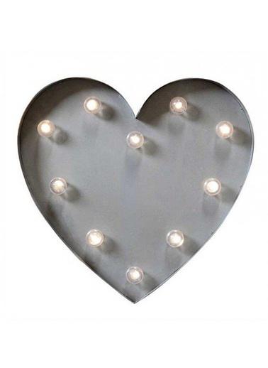 LED Kalp Duvar Tabelası-Warm Design